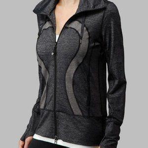 Lululemon Stride Jacket in Heathered Gray